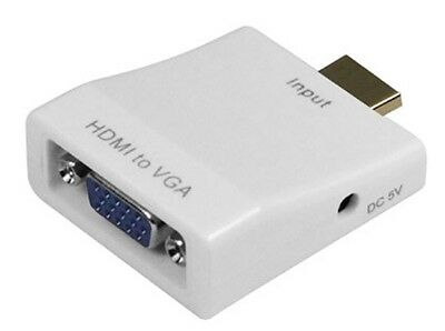 Genuine HDMI Male to VGA Female Video Converter Adapter With USB  (A91)