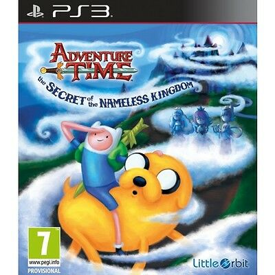 Adventure Time: The Secret of the Nameless Kingdom (PS3)  BRAND NEW AND SEALED