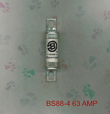 Bussman 63Fe 63 Amp 690 Volt Fuse Bs88-4 Semiconductor