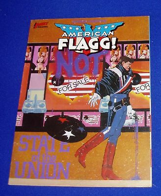 Howard Chaykin American Flagg!. State of the Union 1st edition. paperback.