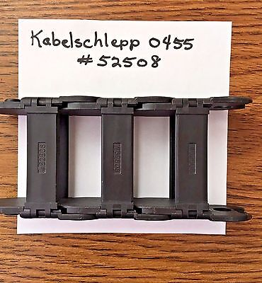 Uniflex Kabelschlepp 0455 / 52508 cable carriers (3 pieces) USA Seller