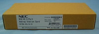 NEC DSX Systems-DSX40 8 Port Analog Station Card, NEC 1091003