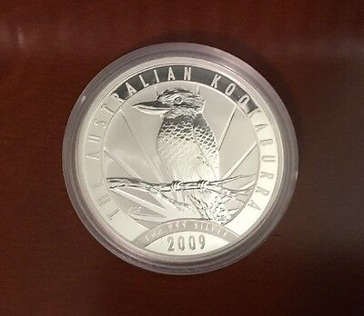 2009 Australia 1 oz .999 Silver Kookaburra (BU)) Fresh From Mint Roll. Free Ship