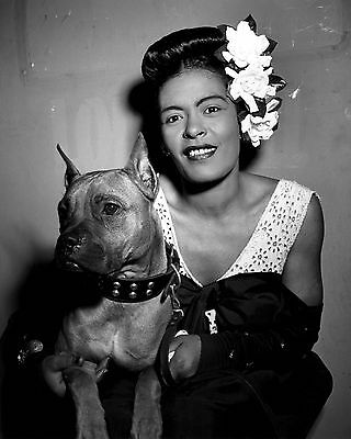 "Billie Holiday 10"" x 8"" Photograph no 14"