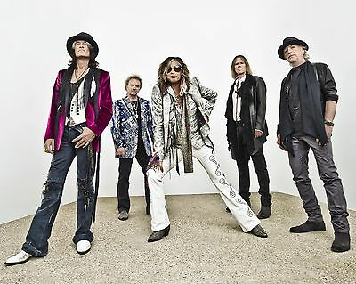 "Aerosmith 10"" x 8"" Photograph no 1"