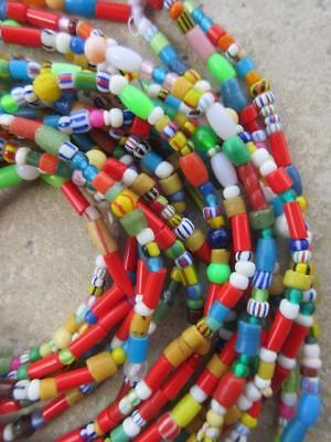 African Glass Beads -6 Strands [66375]