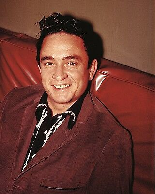 "Johnny Cash 10"" x 8"" Photograph no 5"