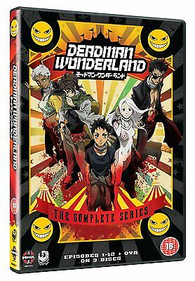 Deadman Wonderland Complete Series Collection Dvd Anime New Sealed