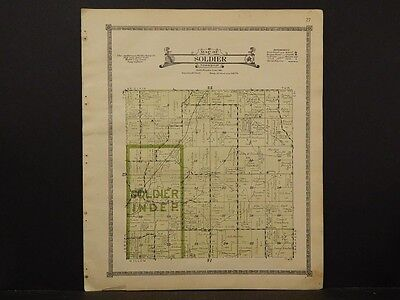 Iowa, Monona County Map, Soldier Township,1919  K5#30