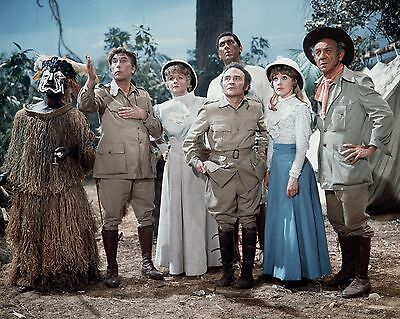 """Carry On up the Jungle cast 10"""" x 8"""" Photograph no 11"""