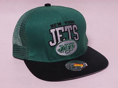d96e5b57e2c693 Mitchell & Ness NEW YORK JETS Snap-Back NFL Cap/Hat Vintage Collection