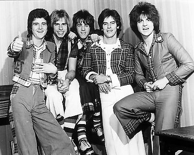 "Bay City Rollers 10"" x 8"" Photograph no 6"