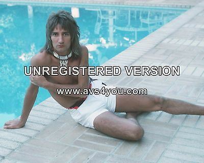 "Rod Stewart 10"" x 8"" Photograph no 12"