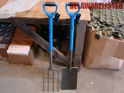 2-Pc D-Handle Heavy Duty Home Outdoor Living Wyndham Spade Fork Garden Tool Set