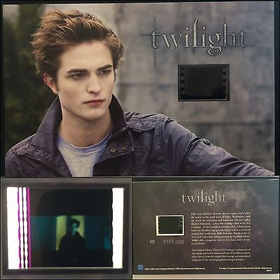Twilight Robert Pattinson Limited Edition #24 Film Cell Individual Numbered RARE