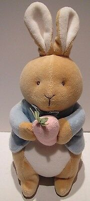 Eden My First Peter Rabbit Plush Bunny Beatrix Potter Stuffed Animal Toy Carrot