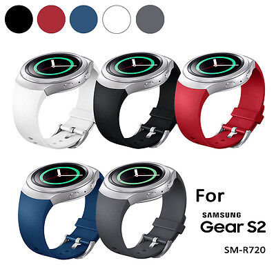 5pcs Silicone Rubber Watch Band Strap For Samsung Galaxy Gear S2 SM-R720