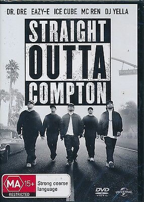 Straight Outta Compton DVD NEW Region 4 Dr. Dre Ice Cube MC Ren