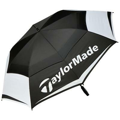"TaylorMade Golf 2017 Tour Double Canopy 68"" Umbrella (Black/White/Grey)"