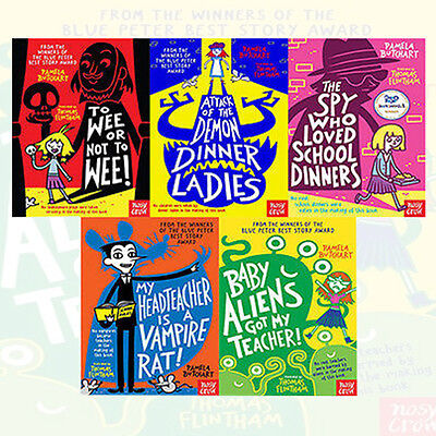 Pamela Butchart 5 Books Collection Set Baby Aliens (To Wee or Not to Wee) New