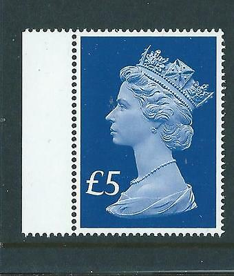 GREAT BRITAIN 2017 65th ANNIVERSARY NEW FIVE POUND STAMP UNMOUNTED MINT MNH.