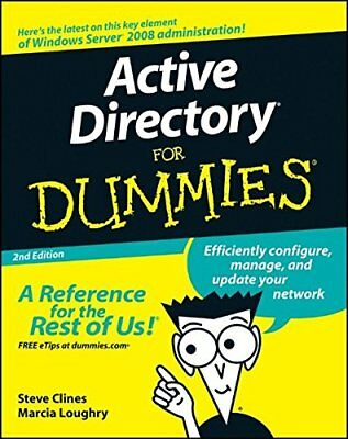 Active Directory For Dummies-Marcia Loughry, Steve Clines