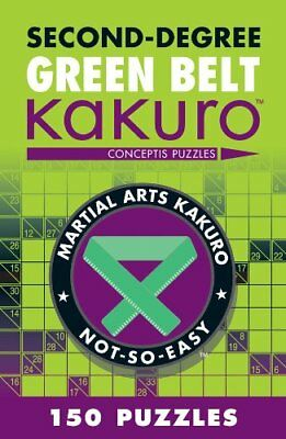 Second-degree Green Belt Kakuro-Conceptis Puzzles