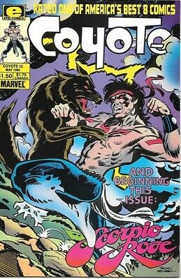 Coyote Comic Book #12 Marvel Comics 1983 NEAR MINT NEW UNREAD