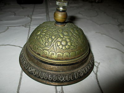 Antique Late 1800's Brass Counter Bell Being Sold As Is