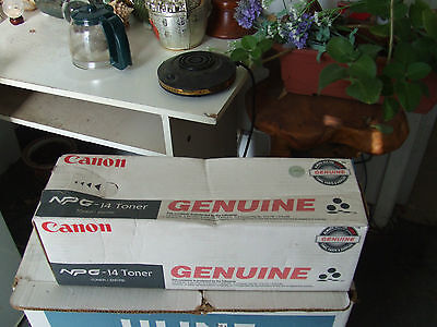 Genuine Canon NPG-14 Black Toner Cartridge 1385A002AA to NP6045 NP6350 NP6545