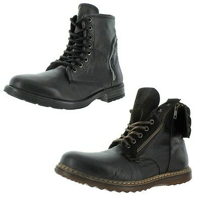 GBX Trammel & Truant Men's Leather Ankle Boots