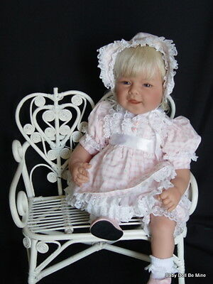 Retired * Lee Middleton * Easter Best * Doll * Blonde with Blue Eyes Baby Doll