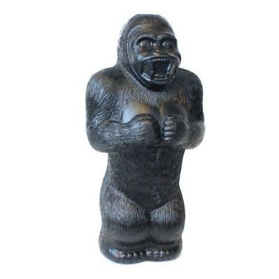 Large Gorilla Money Bank: 17 Inch Plastic Blow-Mold - Classic Retro Design by