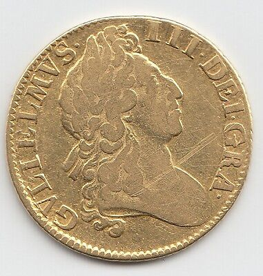 1701 William Iii Gold Guinea