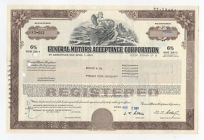 General Motors Acceptance Corporation Bond