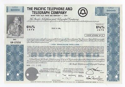 The Pacific Telephone and Telegraph Co. Bond