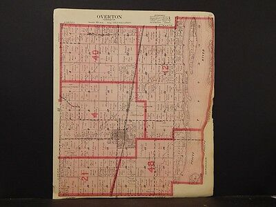 Nebraska, Dawson County Map, Overton Township,  1919  K5#63