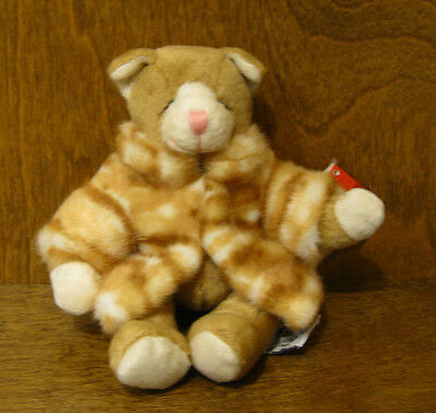 """Russ Berrie Plush #100646 CATALINA, 7""""  NEW from our Retail Store Mint/tag, CAT"""