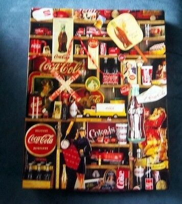 Vintage 1986 Springbok COCA COLA  500 Piece Jigsaw Puzzle Interlocking