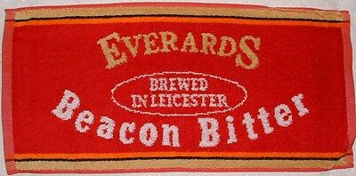 Everards Beacon Bitter Brewed in Leicester Beer Bar Towel - New