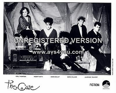 """The Cure 10"""" x 8"""" Photograph no 10"""