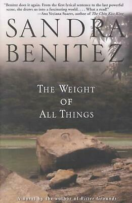The Weight of All Things by Sandra Benitez (English) Paperback Book Free Shippin