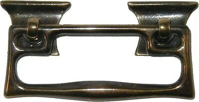 Antiqued Cast Brass Arts n Crafts Bail Pull