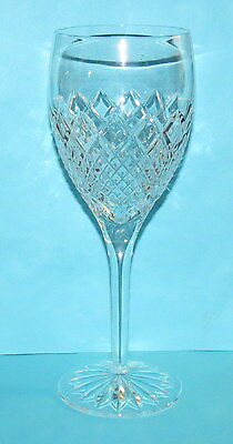 """Waterford 9 3/8"""" Wine/water Goblets MINT!!"""