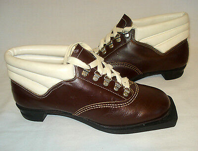 Vintage Eu 38 women's 3 Pin 75 mm Cross-country Ski Boots
