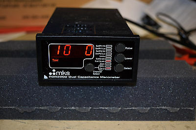 MKS PDR-2000 PDR2000 Dual Capacitance Manometer 2 Channel Digital Power Supply