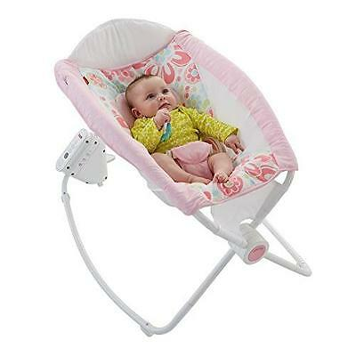Fisher-Price Auto Rock 'n Play Sleeper, Floral Confetti New