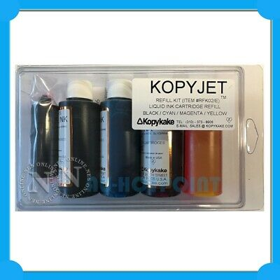 KopyJet Edible Cake Refill Ink Set (68ml x4)->Canon Printer PGI650/CLI651 PGI525