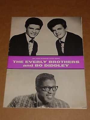 Everly Brothers/Bo Diddley/Rolling Stones 1963 UK Tour Programme