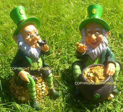 New Design Latex Mould Mold Moulds Leprechaun Sat On Gold,leprechaun Pot Gold